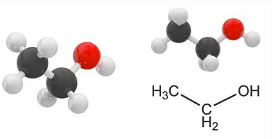 The alcohols have one or more hydroxyl groups bonded to a carbon atom Fuente: https://concepto.de/alcoholes/#ixzz5xiFhTRMc