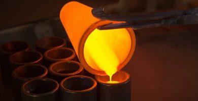 physical change temperature metal liquid state