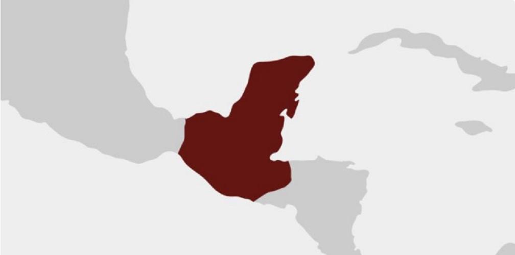 cultura maya imperio mapa