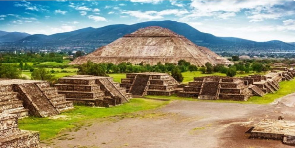 teotihuacan architecture pyramid of the sun
