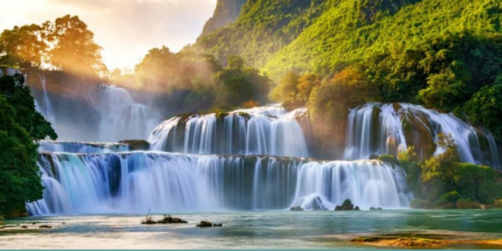 Water - waterfall - water benefits