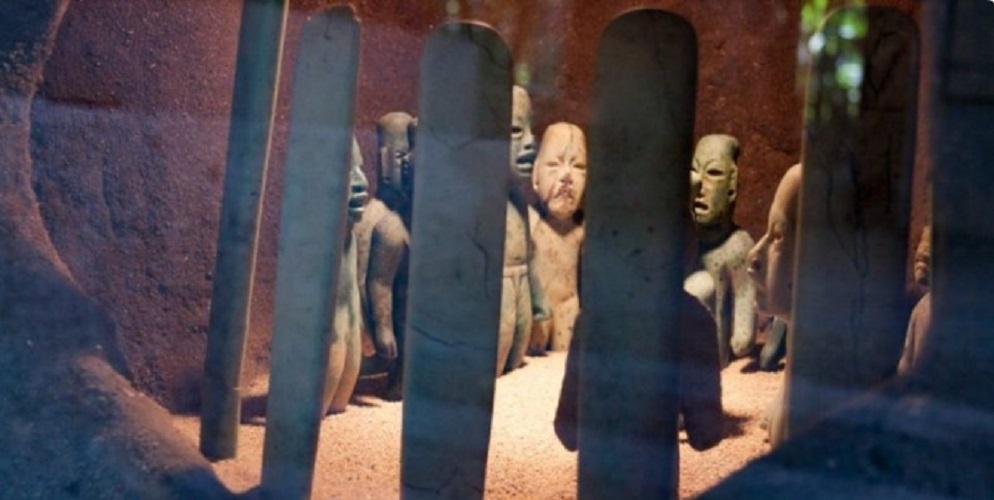 Olmec culture burial sale religion
