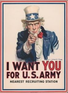 Poster I want you United States