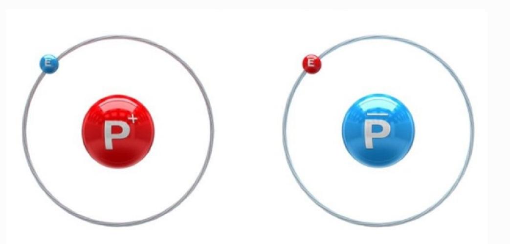 antimatter atomo hydrogen