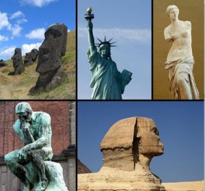 EXAMPLES OF SCULPTURES