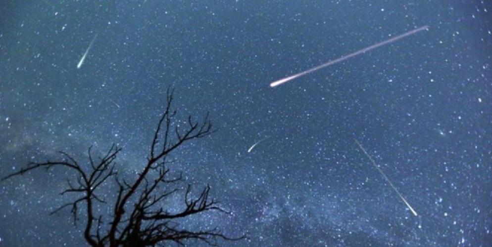 comet meteor shower