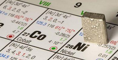 nickel metal element
