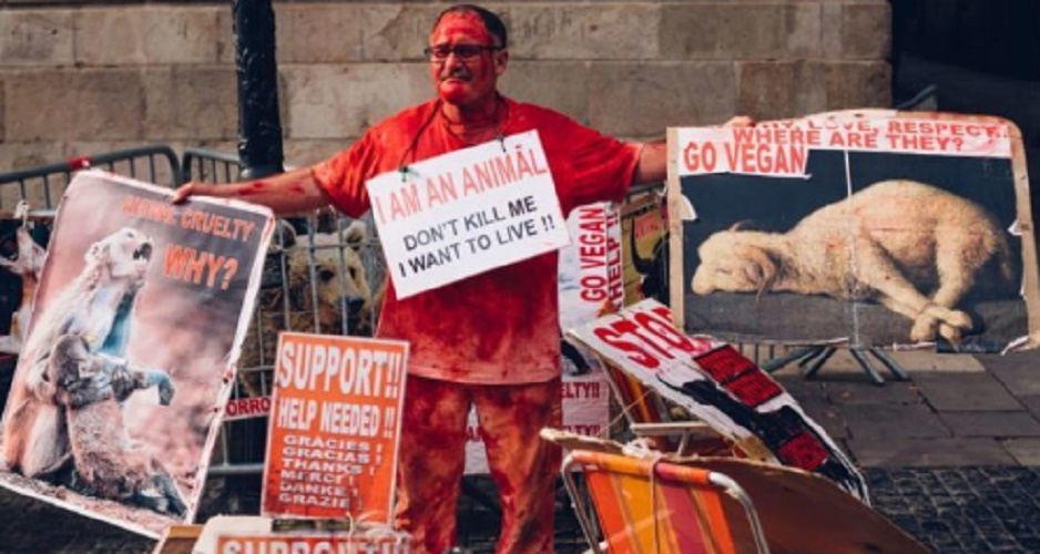 animal rights protest empathy