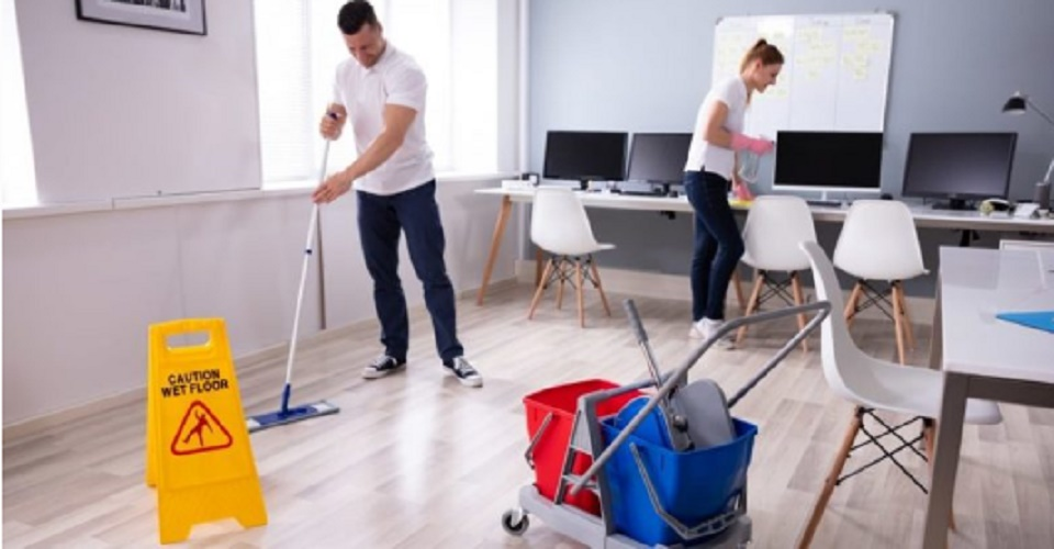 organizational structure support staff cleaning