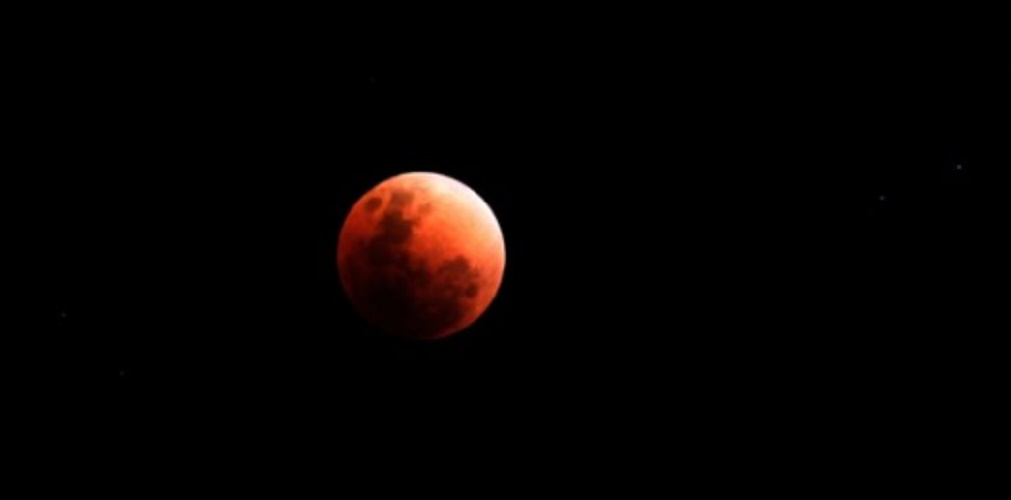 lunar eclipse real photography