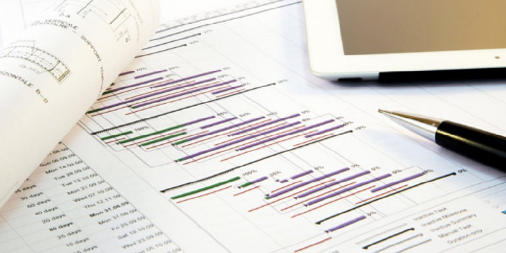 Gantt chart - project management