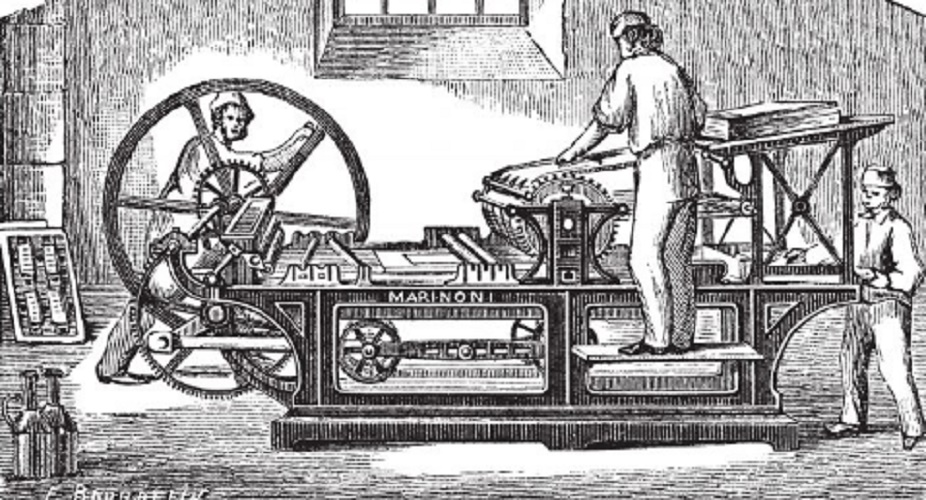 Humanism - Invention of the printing press