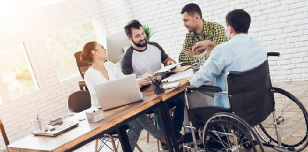 social equality disability work