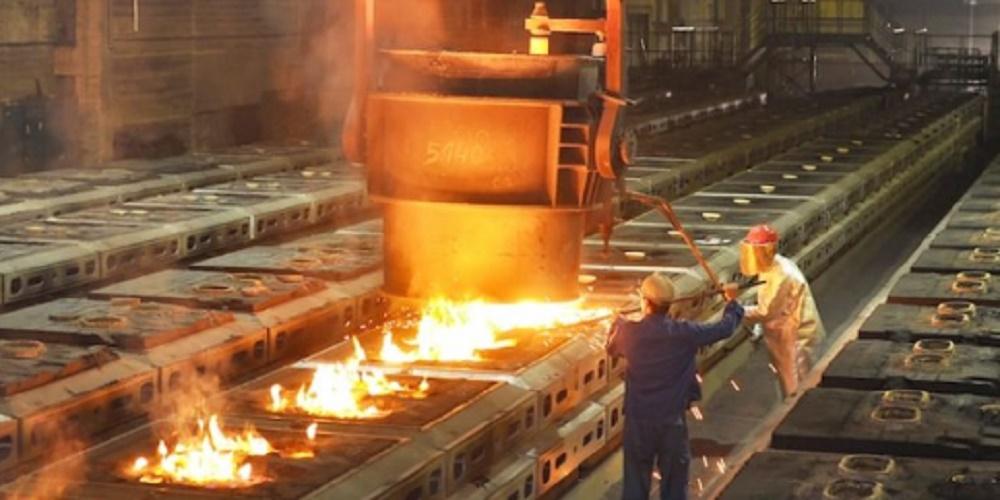 heavy metalworking industry