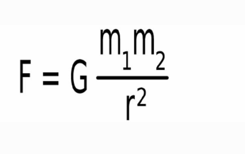 Law of Universal Gravitation formula