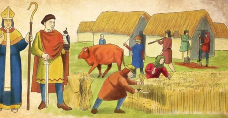 mode of production feudad middle ages medieval feudalism social classes noble clergy peasants