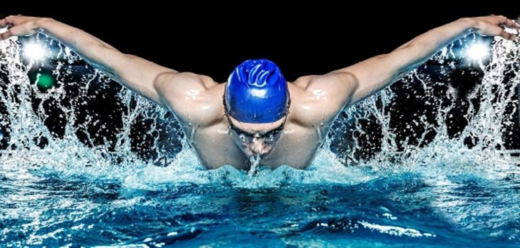 swimming sport butterfly style