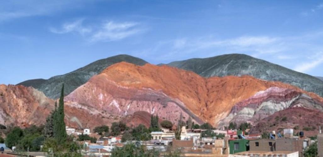 broken cultural landscape of humahuaca purmamarca hill of seven colors