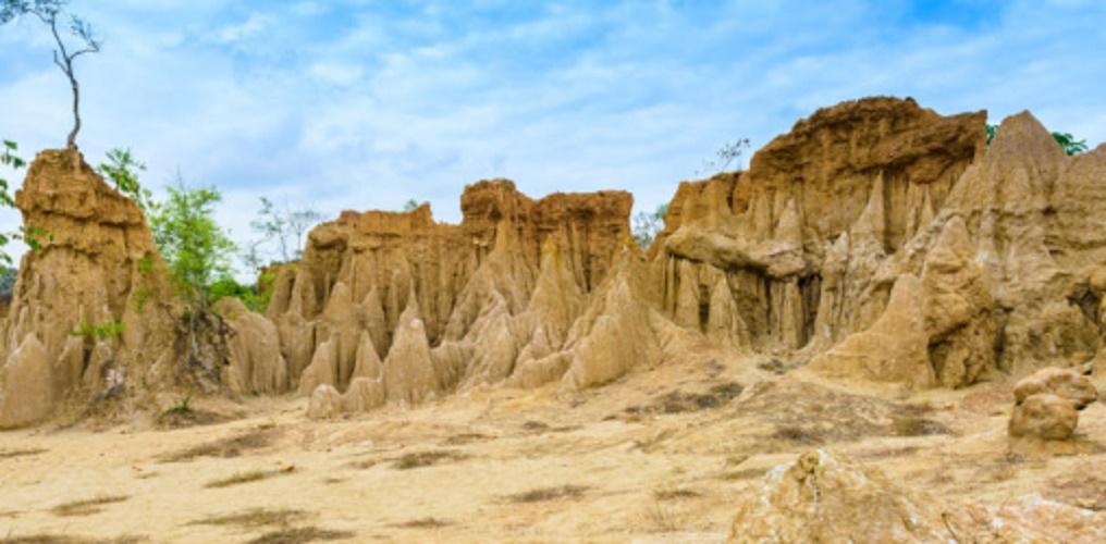 Erosion - wind - soil