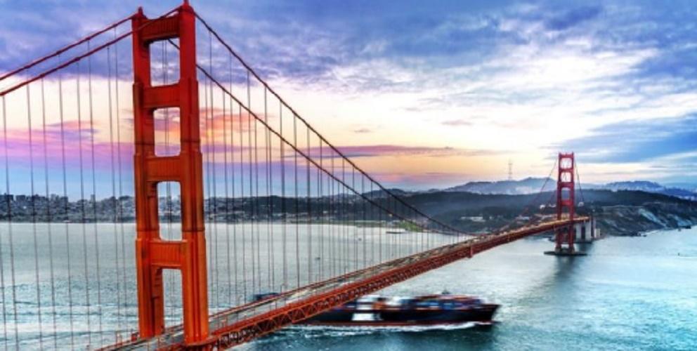 analytical geometry suspension bridge san francisco applications