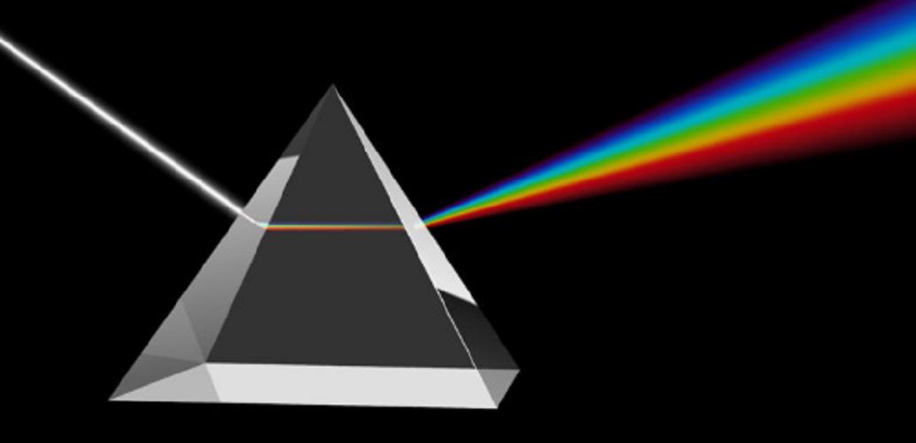 Solar light - spectrum of light