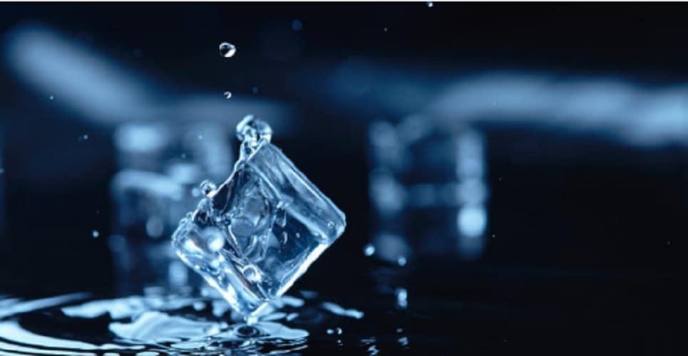 Matter - aggregation states - ice