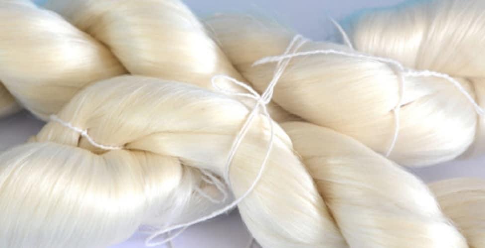 Organic matter - silk