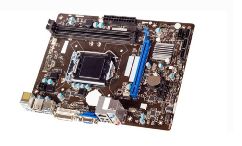 internal parts of a mother board computer
