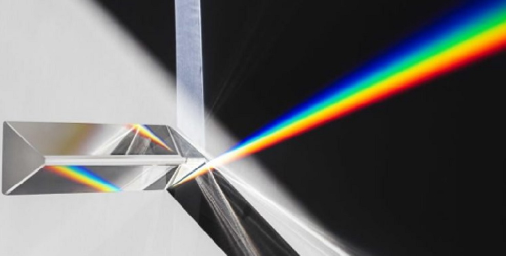 light characteristic properties dispersion colors prism