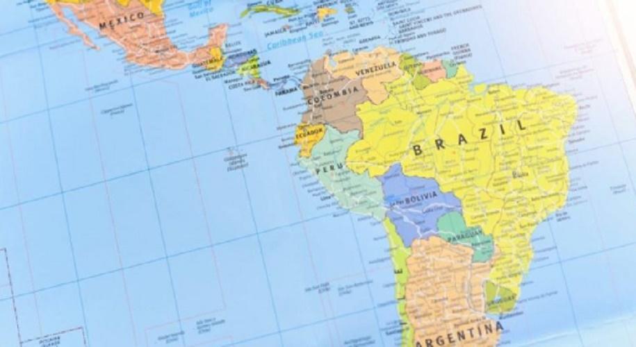 latin america latin map countries
