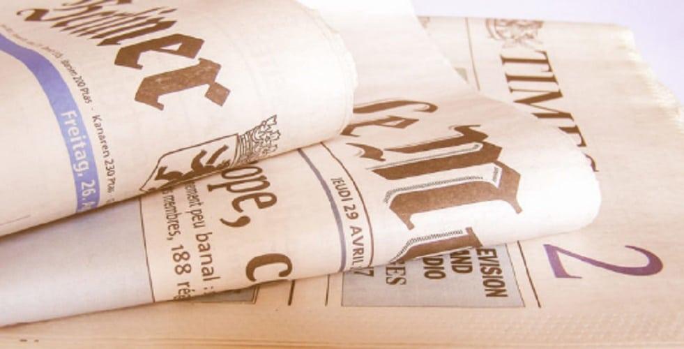 Old media - Newspaper