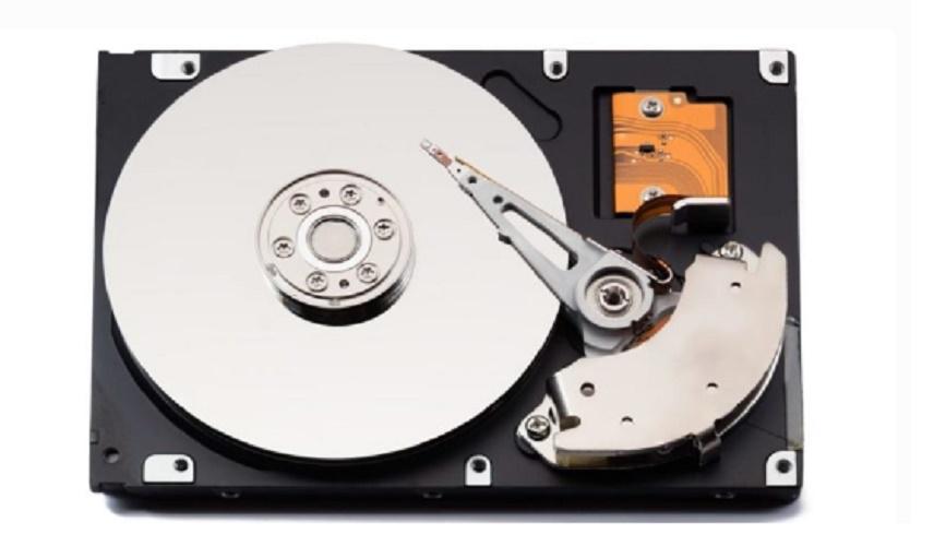 internal parts of a hard disk computer