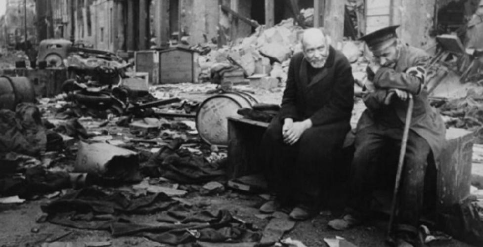 world wars destruction europe consequences