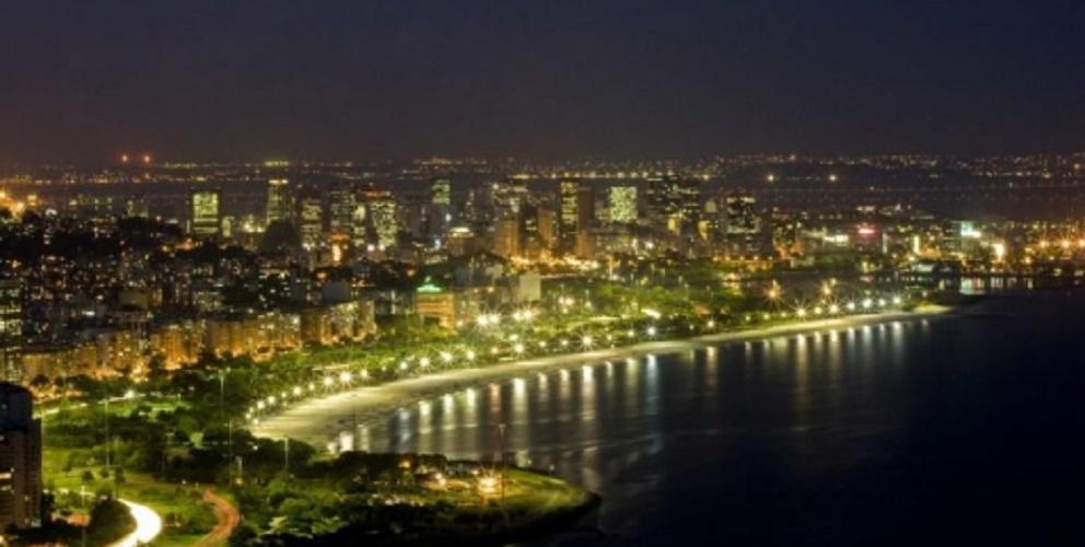 latin america america latin population city rio de janeiro panoramic night