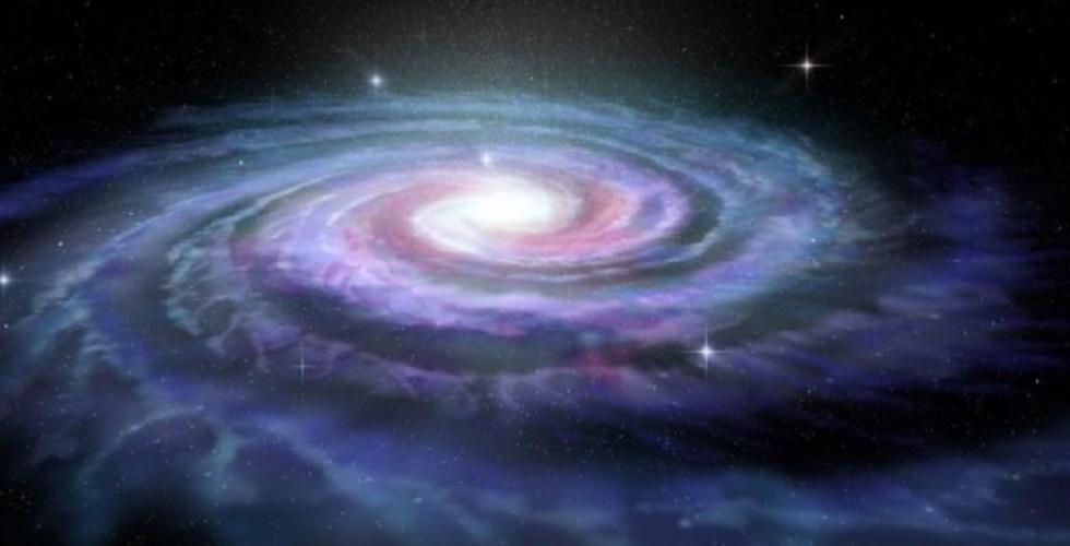 planet earth galaxy via milky