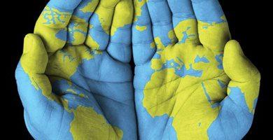 social sciences - hand map