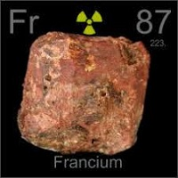 uses of francium and atomic properties