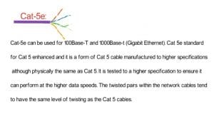what is the difference between cat5 and cat6