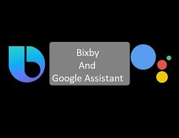 Bixby And Google Assistant