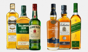 difference between Irish whiskey and Scotch whiskey