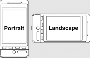 difference between landscape and portrait