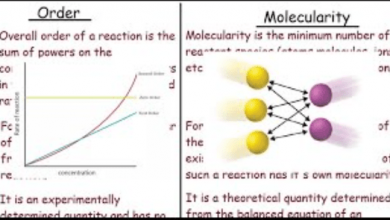 Difference Between Order and Molecularity of Reaction