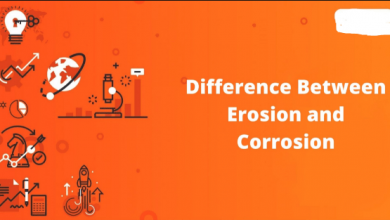 Differences Between Erosion and Corrosion