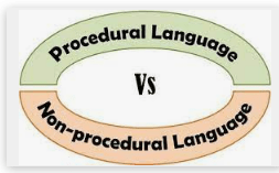 differences between procedural and nonprocedural language